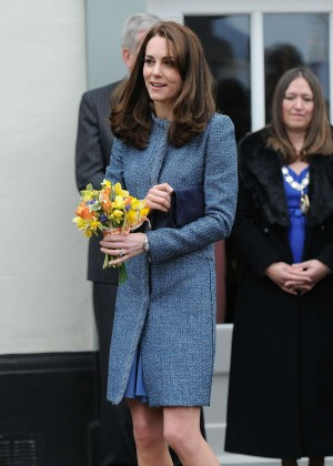 Kate Middleton - Opens the new East Anglia Childrens Hospice in London