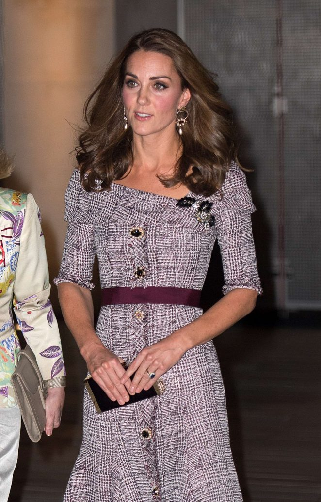 Kate Middleton - Opens V&A  Photography Centre in London