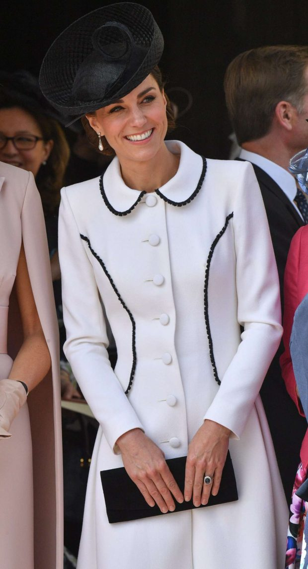 Kate Middleton - Order of the Garter Service in Windsor
