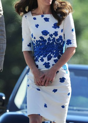 Kate Middleton out in Luton