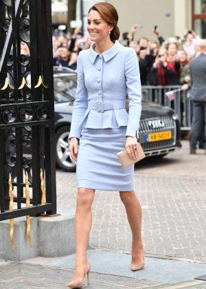 Kate Middleton - Pays a visit on His Majesty King Willem-Alexander of the Netherlands