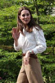Kate Middleton -  RHS Chelsea Flower Show at the Royal Hospital Chelsea in London