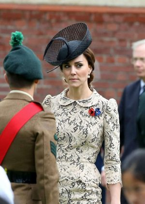 Kate Middleton - Somme Centenary Commemorations in Thiepval