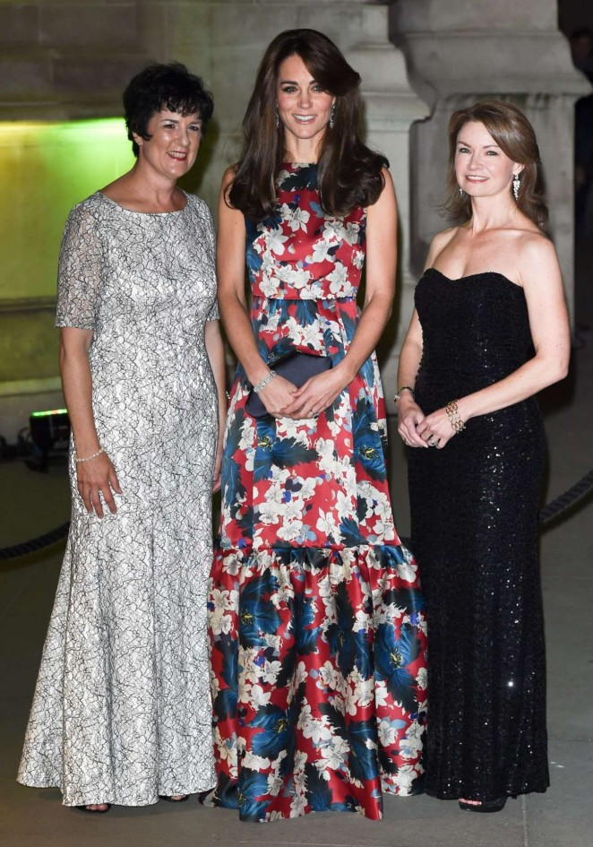 Kate Middleton in Floral Dress -02