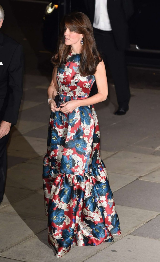 Kate Middleton in Floral Dress -03