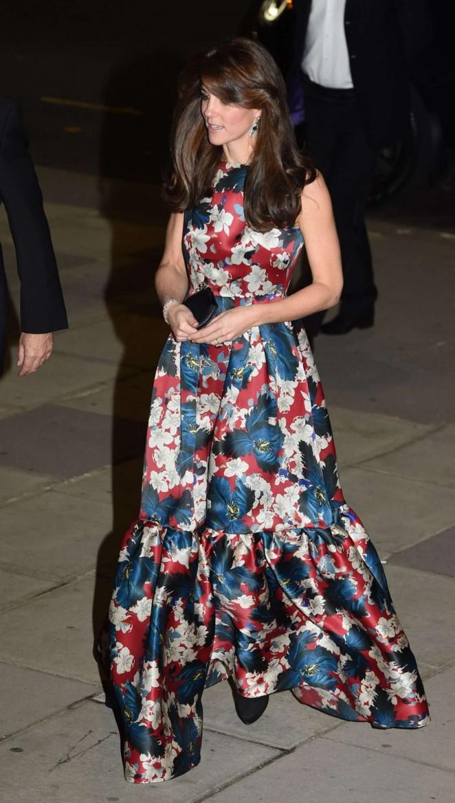 Kate Middleton in Floral Dress -05