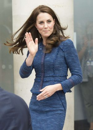 Kate Middleton - Visit to Kings College Hospital in London