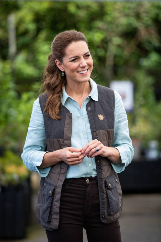 Kate Middleton - Visits Fakenham Garden Centre in Norfolk