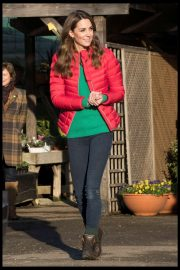 Kate Middleton - Visits Family Action at Peterley Manor Farm in Great Missenden