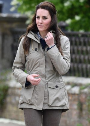 Kate Middleton - Visits Farms for city Children at Arlingham in Gloucester