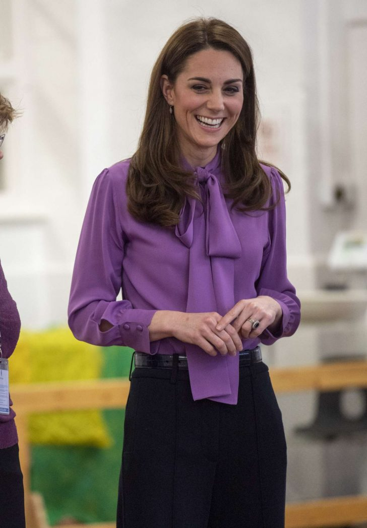 Kate Middleton - Visits Henry Fawcett Children's centre in London
