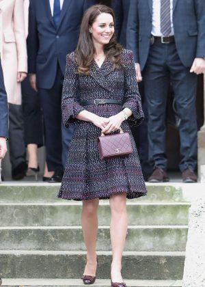 Kate Middleton Visits 'Les invalides' in Paris