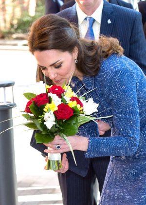 Kate Middleton Visits Ronald Mcdonald House Evelina In