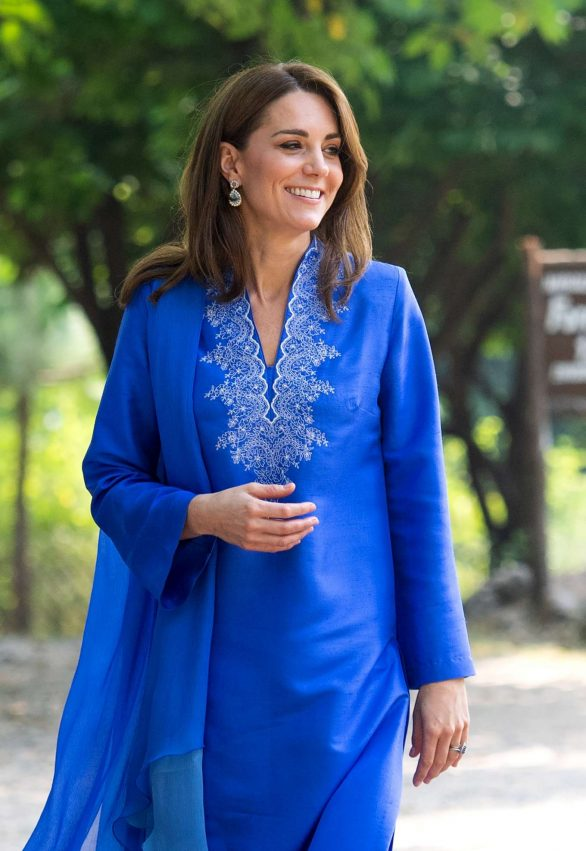 Kate Middleton - Visits the Margalla Hills National Park in Islamabad
