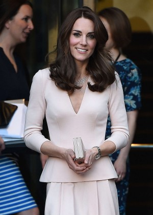 Kate Middleton - Visits the National Portrait Gallery in London