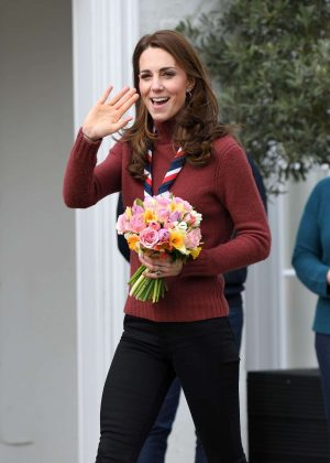 Kate Middleton - Visits The Scouts HQ at Gilwell Park in Epping