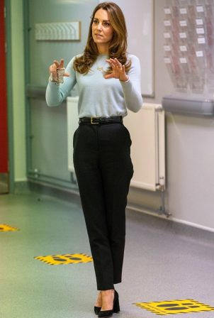 Kate Middleton - Visits the University of Derby