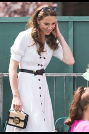 Kate Middleton - Wimbledon Tennis Championships 2019 Day 2 in London