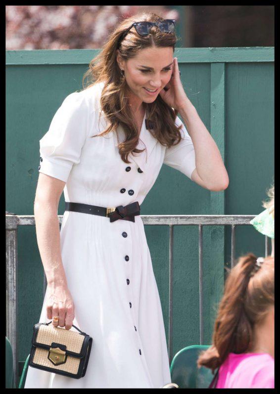 Kate Middleton - Wimbledon Tennis Championships 2019 Day 2 in London