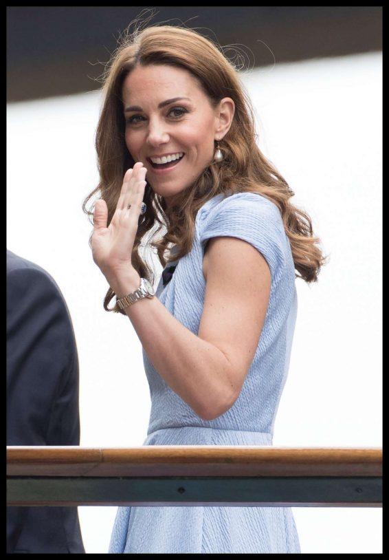 Kate Middleton - Wimbledon Tennis Championships 2019 in London