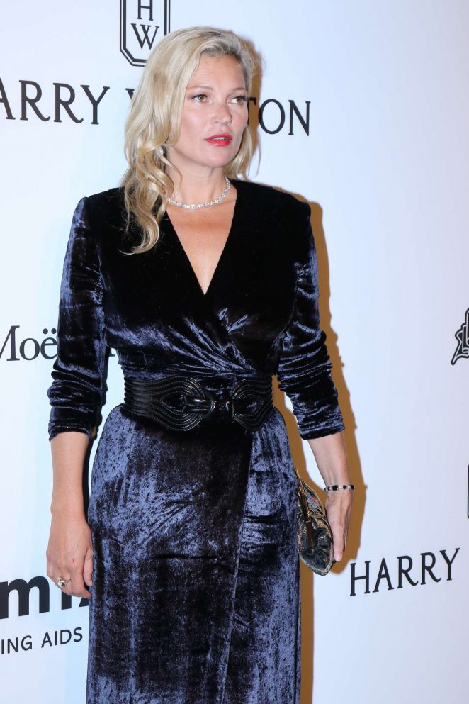 Kate Moss - 2017 amfAR Inspiration Gala in Sao Paulo
