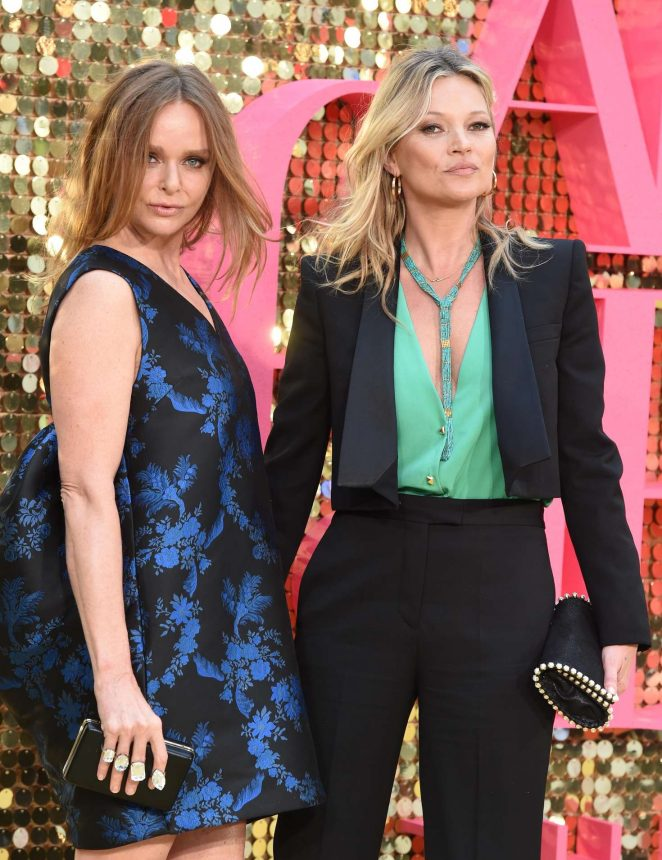 Kate Moss and Stella McCartney - 'Absolutely Fabulous: The Movie' Premiere in London