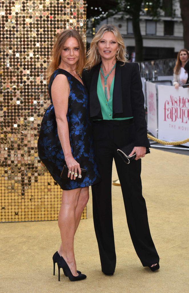 Kate Moss and Stella McCartney: Absolutely Fabulous The Movie UK Premiere -08