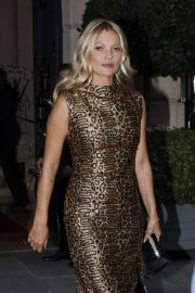 Kate Moss - Arrives at The Hotel De Crillon in Paris