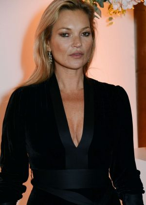 Kate Moss - British Vogue One Year Anniversary Celebration in London