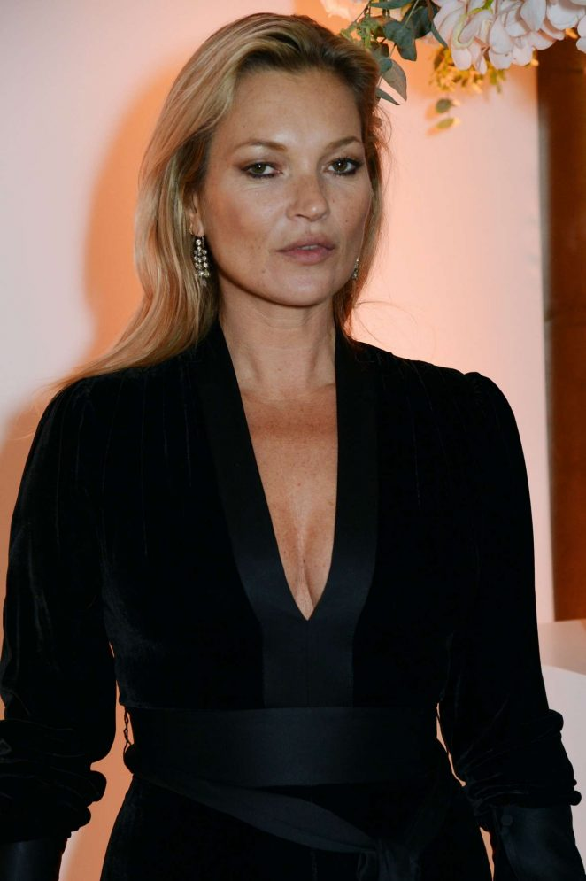 Kate Moss – British Vogue One Year Anniversary Celebration in London