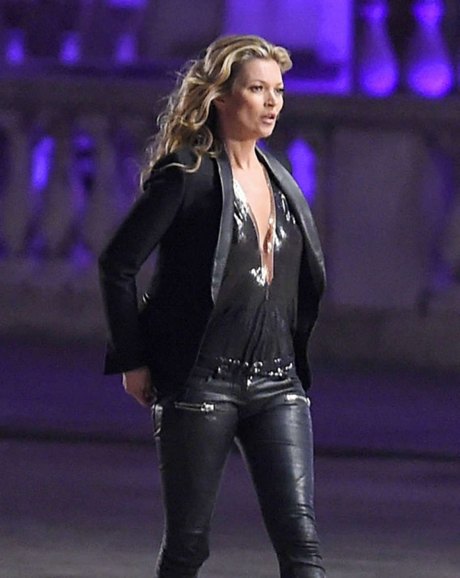 Kate Moss: Filming a Rimmel Commercial -02