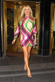 Kate Moss - Heads to the Met Gala After Party in NYC