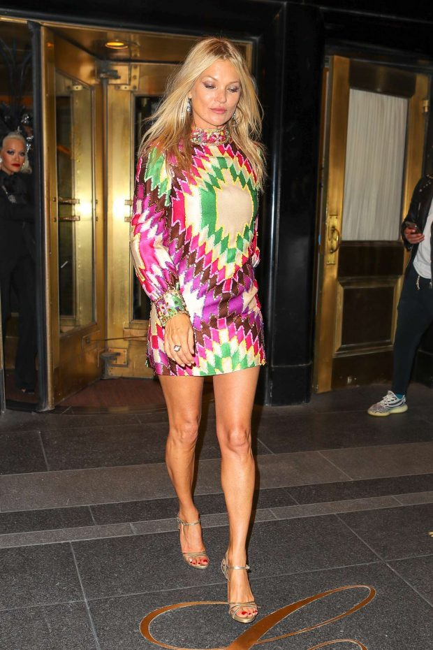 Kate Moss: Heads to the Met Gala After Party -08