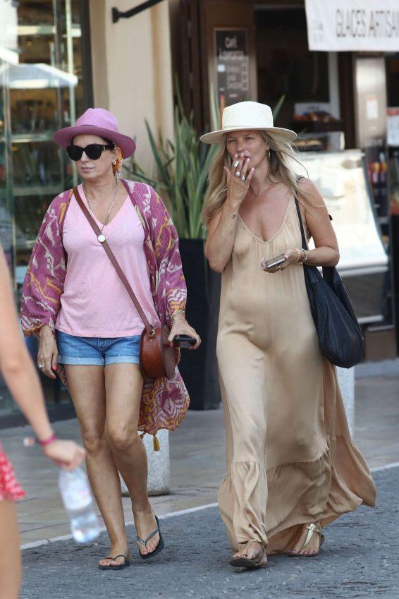 Kate Moss 2019 : Kate Moss in Long Summer Dress-01