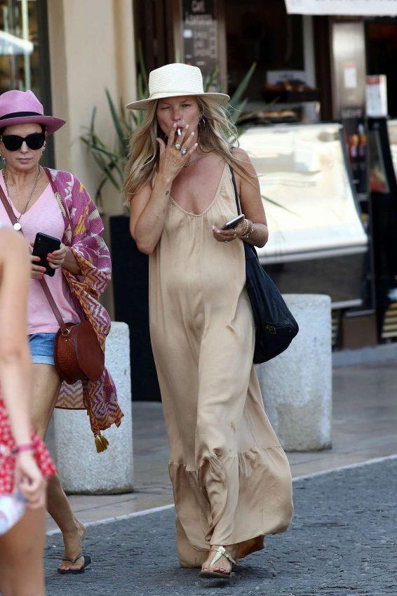 Kate Moss 2019 : Kate Moss in Long Summer Dress-04