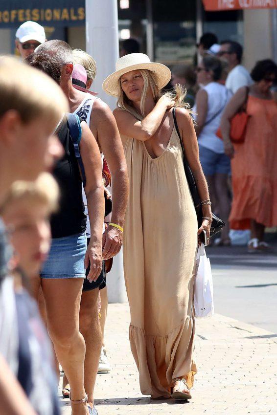 Kate Moss 2019 : Kate Moss in Long Summer Dress-08