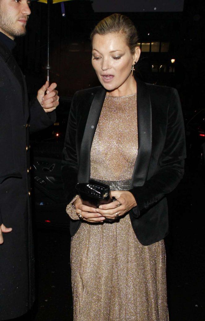 Kate Moss - Leaves Ara Vartanian x Kate Moss Launch Party in London