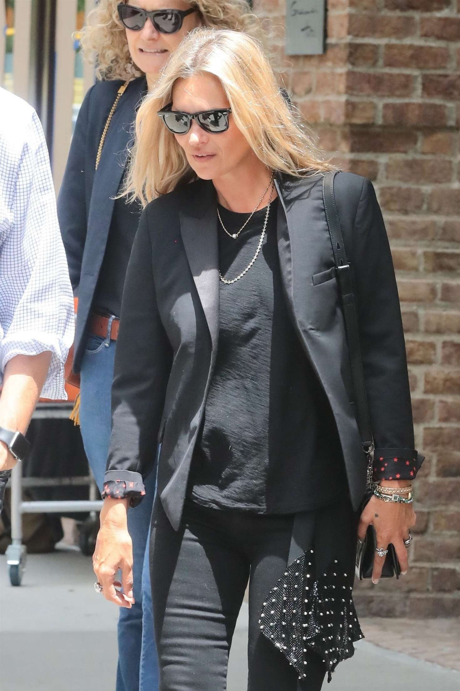 Kate Moss 2018 : Kate Moss: Leaving the Greenwich Hotel -04