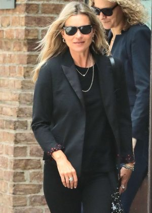 Kate Moss - Leaving the Greenwich Hotel in New York