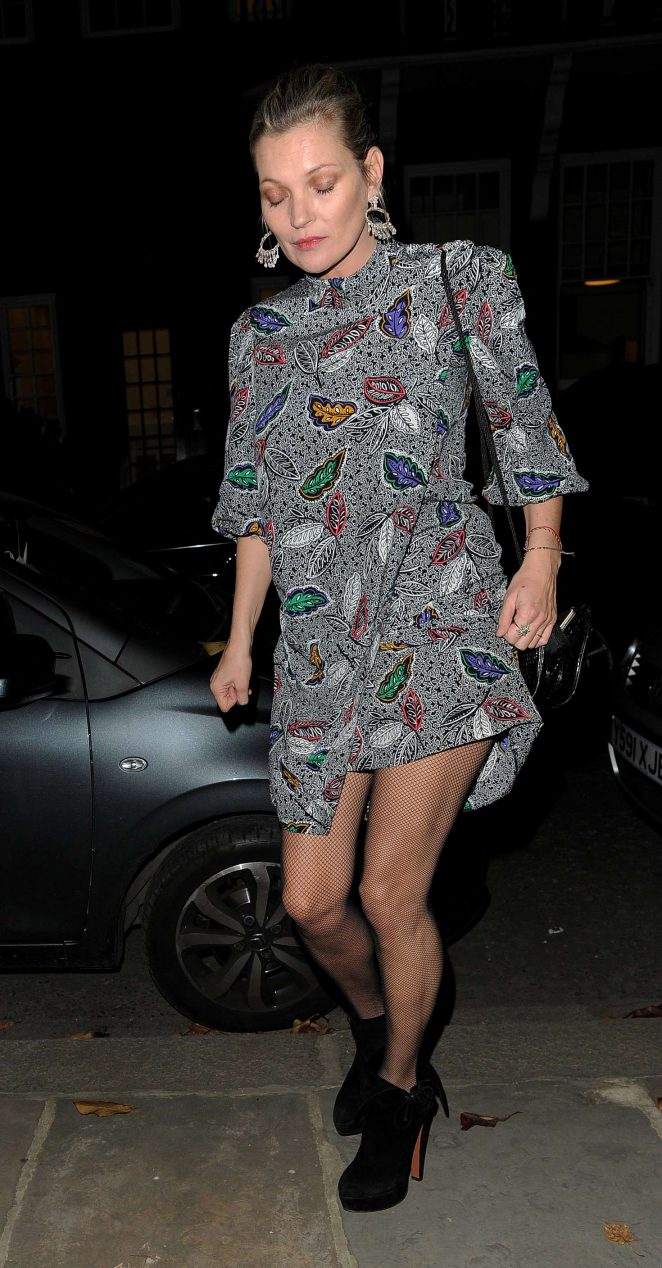 Kate Moss night out in Chelsea -04