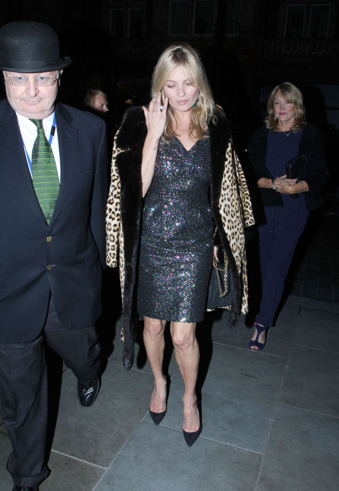 Kate Moss - Night out in London