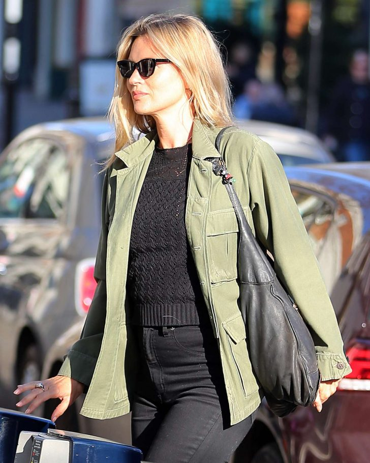 Kate Moss: Out and about in London -03