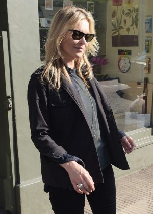 Kate Moss out in Chelsea