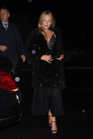 Kate Moss - Pictured during Paris Fashion Week