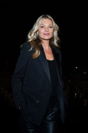 Kate Moss - Saint Laurent Womenswear SS 2020 Show at Paris Fashion Week