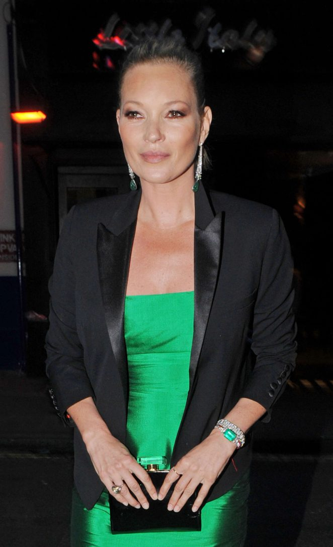 Kate Moss - The Hoping Foundation 10th Year Extravaganza in London