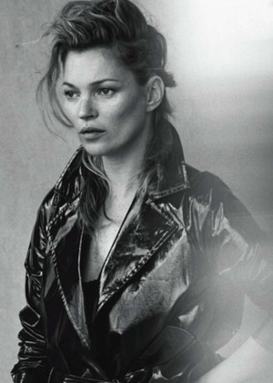 Kate Moss - Vogue Italy Magazine (January 2015)