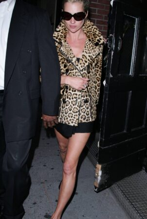 Kate Moss - With Winona Ryder steps out in New York City