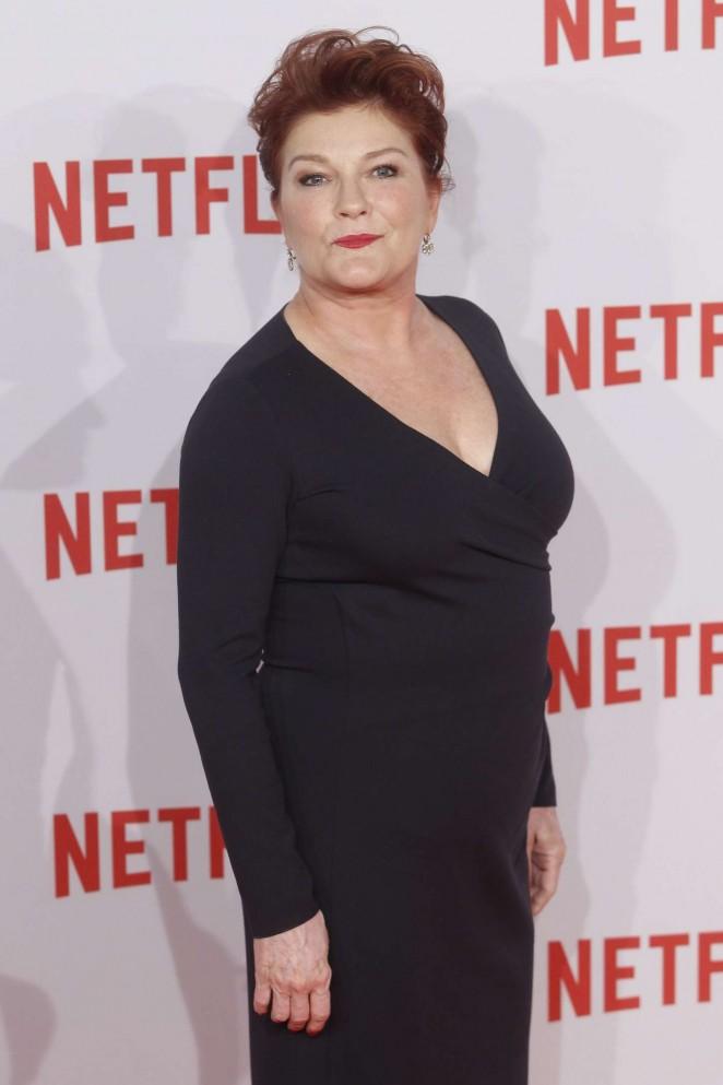 Kate Mulgrew – Netflix Presentation in Madrid