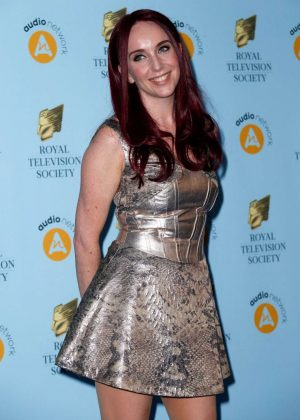 Kate Oates - 2018 RTS Programme Awards in London